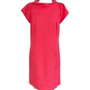 Laundry by Shelli Segal Pink Shift Dress Size 10